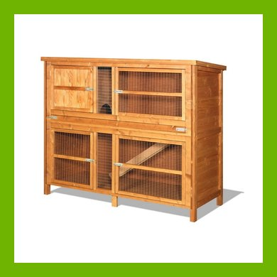 5FT CHARTWELL DOUBLE HUTCH