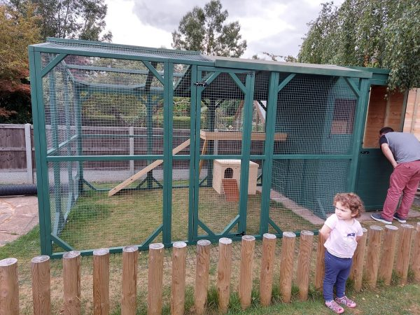 RAWF Recommended sized hutches and runs