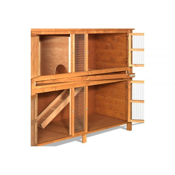 THE HUTCH COMPANY 6FT CHARTWELL DOUBLE HUTCH