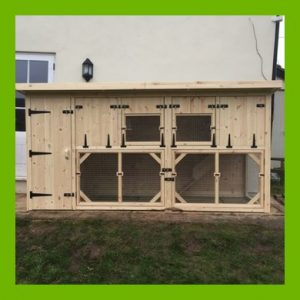 6FT X 3FT X 5FT RABBIT HUTCH SHED