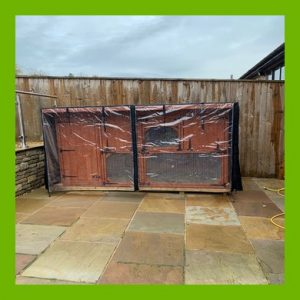 HAND MADE COVER FOR 6FT X 3FT X 5FT HUTCH SHED - GREAT QUALITY
