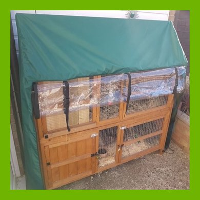 MADE TO MEASURE HUTCH AND RUN COVERS - GET YOUR QUOTE NOW