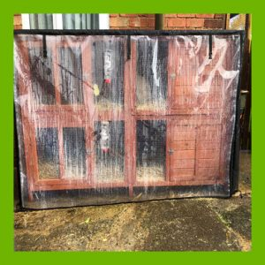 WATERPROOF COVER FOR THE MAPLE MANOR XL HUTCH