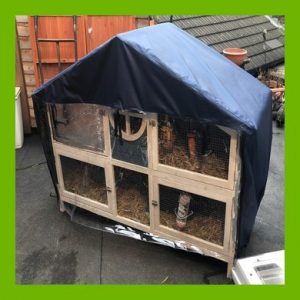HIGH QUALITY COVER TO FIT THE FOXGLOVE APEX HUTCH FROM PETS AT HOME