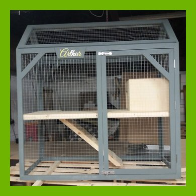 2 TIER INDOOR RABBIT OR GUINEA PIG HOUSE