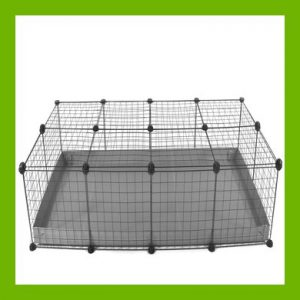 4 X 2-CHEAP INDOOR RABBIT CAGE