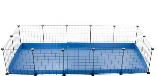 5x2-guinea-pig-cage-deluxe-NO-LID-IN-BLUE