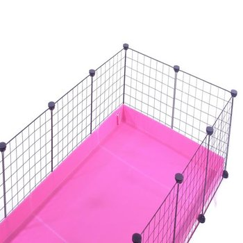 5x2-guinea-pig-cage-deluxe-NO-LID-IN-FRUITY PINK
