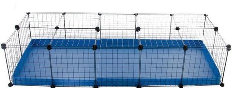 5x2-guinea-pig-cage-deluxe-WITH-LID-IN-BLUE