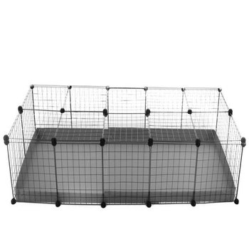 5x2-guinea-pig-cage-deluxe-WITH-LID-IN-GREY