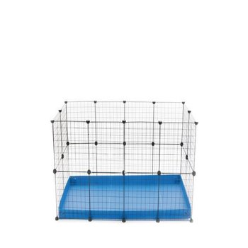 COMFORT RECTANGULAR RUN WITH DOUBLE HEIGHT NO LID IN BLUE