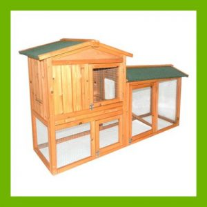 CHARLES BENTLEY TWO STOREY GUINEA PIG HUTCH