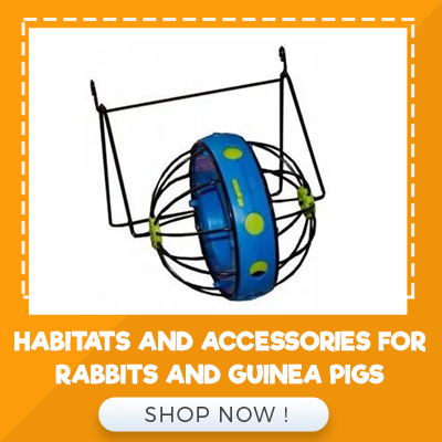HABITATS AND ACCESSORIES FOR RABBITS AND GUINEA PIGS
