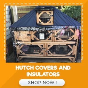 HUTCH COVERS AND INSULATIORS