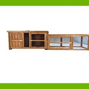 RABBIT OR GUINEA PIG HUTCH WITH RUN COMBO