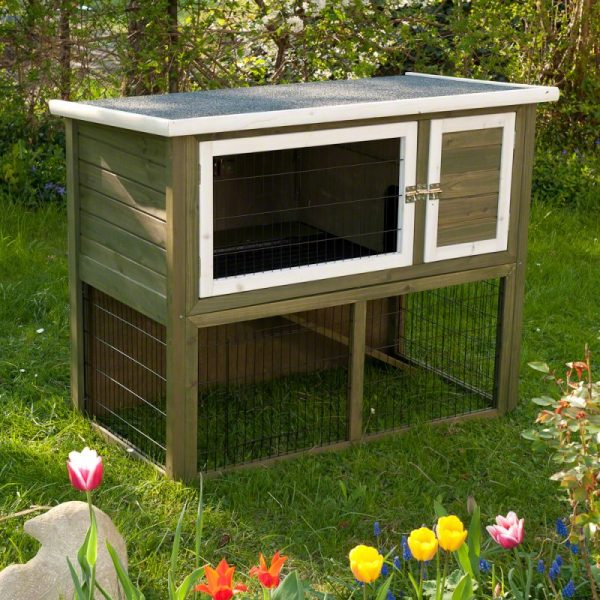 Outback Hutch Green with Run