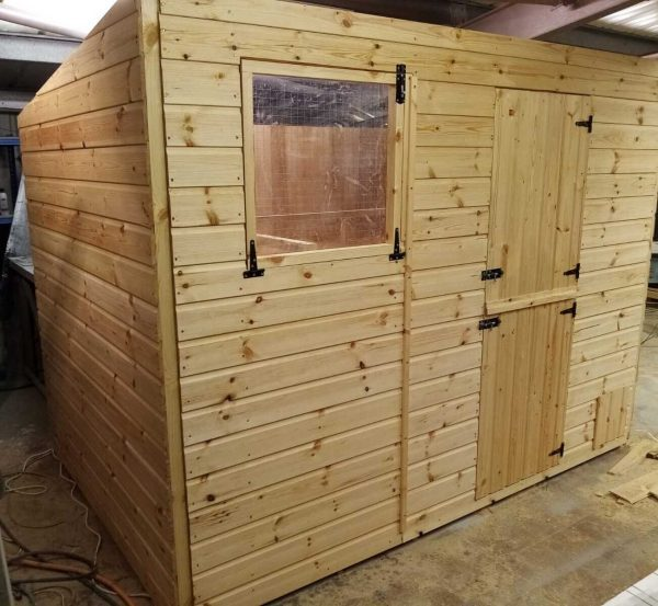 180 CM X 150 CM HAND MADE RABBIT SHED