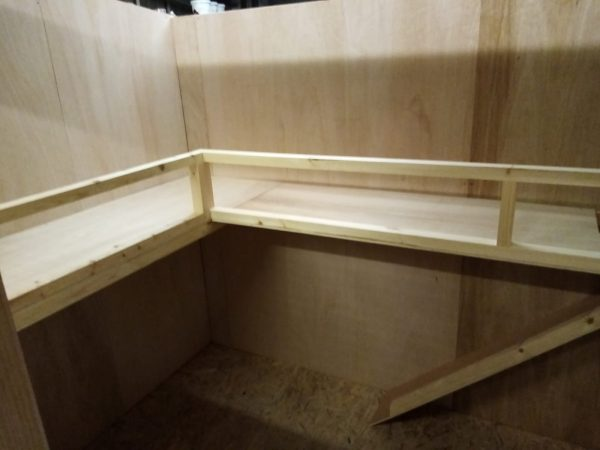 inside of rabbit shelving other designs available