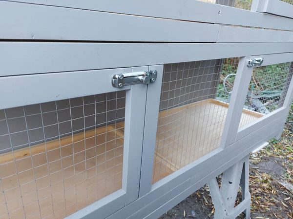2 TIER INDOOR GUINEA PIG ENCLOSURE WITH STURDY LOCKING CLIPS
