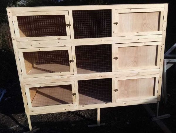 EXTRA LARGE 3 TIER INDOOR GUINEA PIG HUTCH