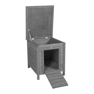 CHARLES BENTLEY FSC SHELTER HUTCH BOX GREY